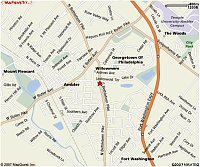 Map of 108 S Bethlehem Pike, Ambler PA